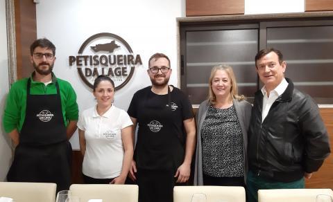 """Carta de Felicitación al restaurante """"Leiton da Mealhada"""""""